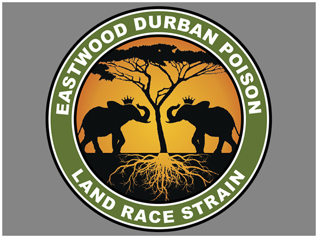 Eastwood Durban Poison Sticker