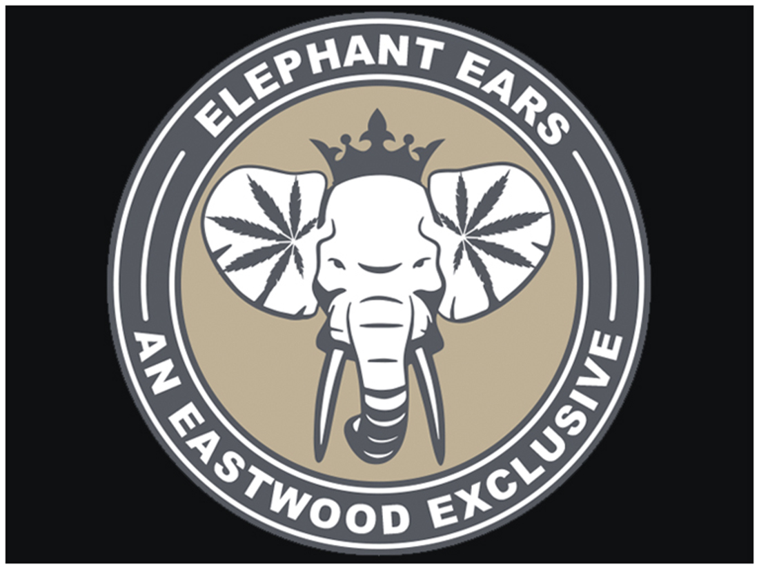 Eastwood Elephant Ear Sticker