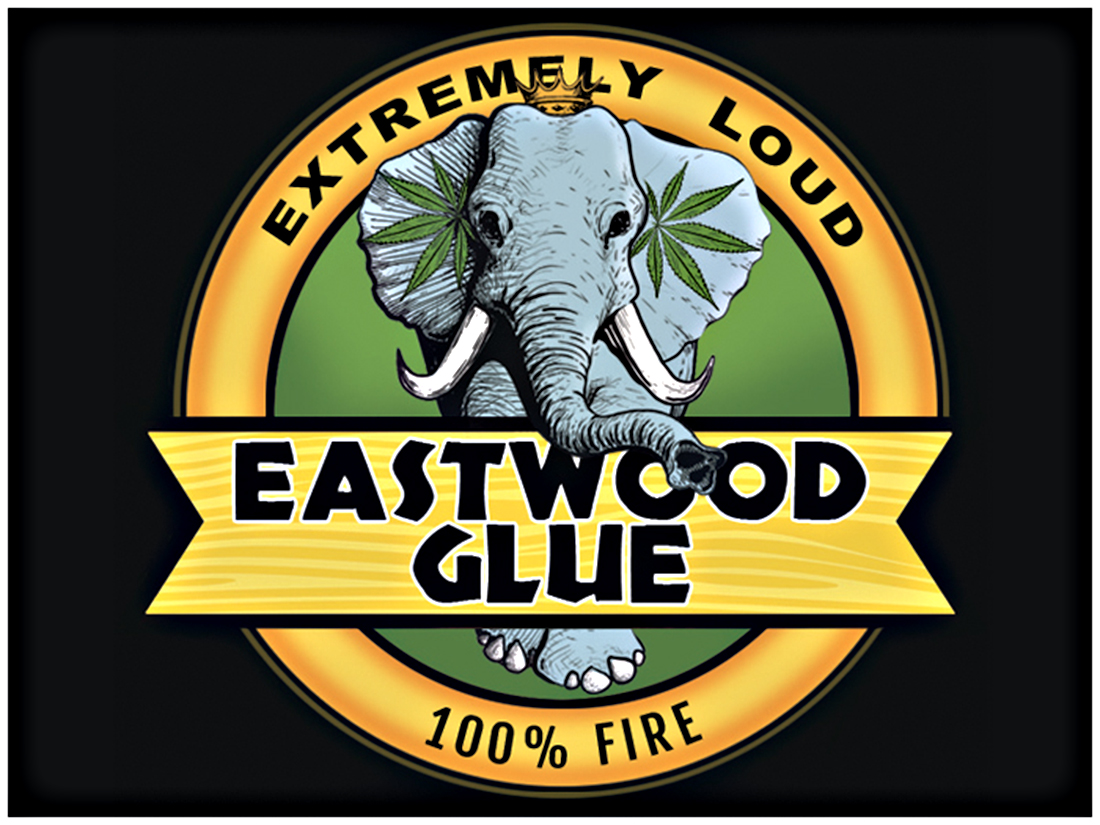 Eastwood Glue Sticker