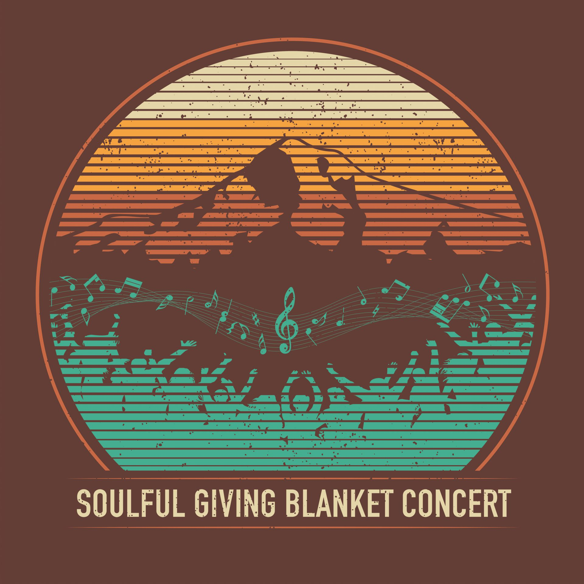 Soulful Giving Blanket Concert T-Shirt